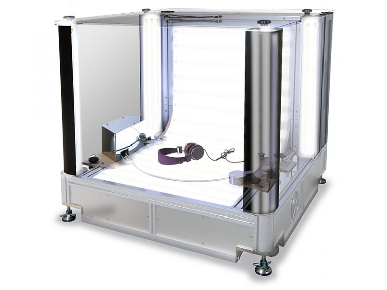 LED-verlichtingssysteem fotostudio Packshot