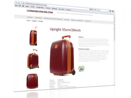 3D view e-commerce