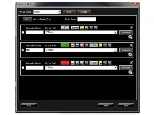 Photo monitor packshot