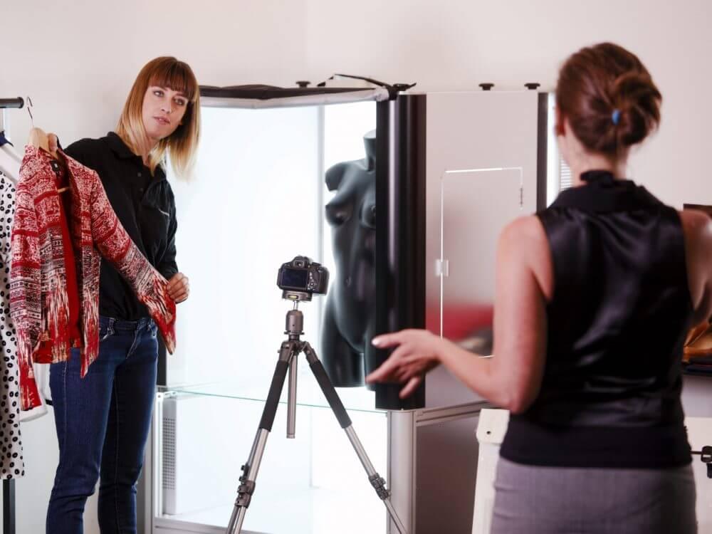 Productfotograaf en animaties 360 e-commerce