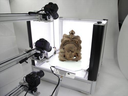 3D fotografie kunstvoorwerpen