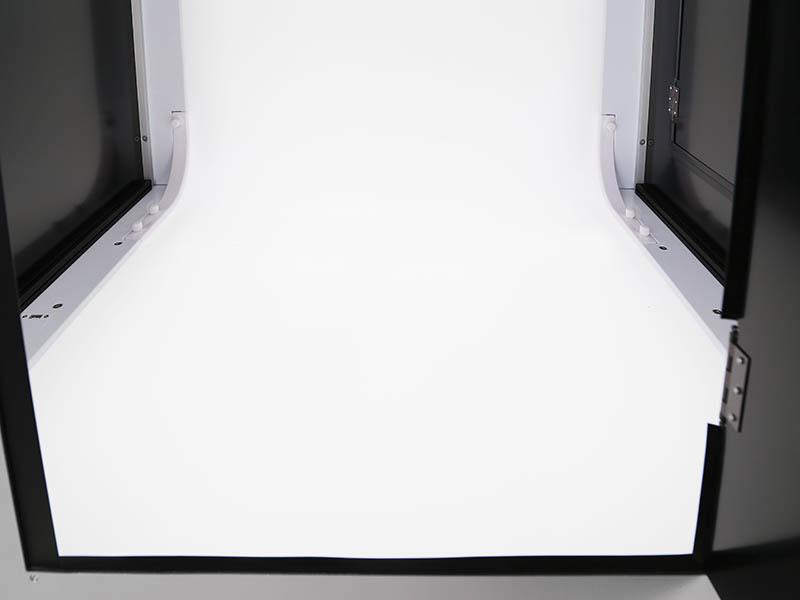 het interieur van een fotostudio