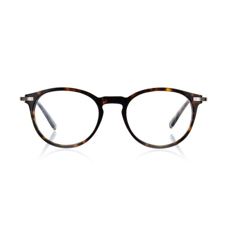 foto van bril genomen vanaf de voorkant