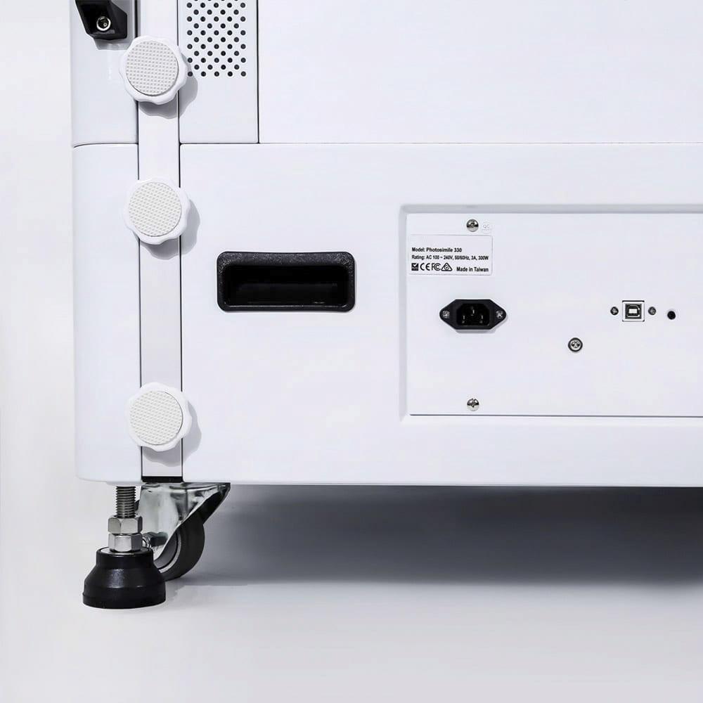 hoe een geautomatiseerde fotostudio op een computer aan te sluiten