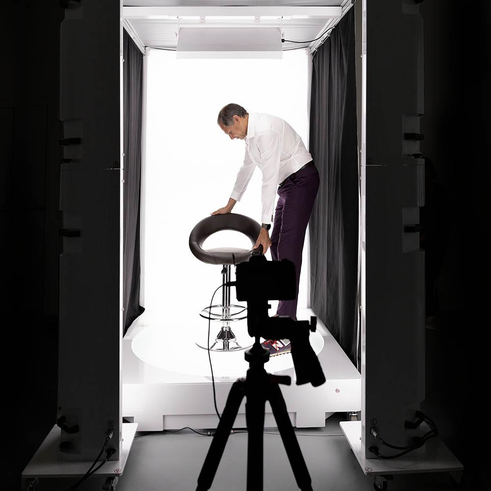360°animaties van producten PackshotStudio 360