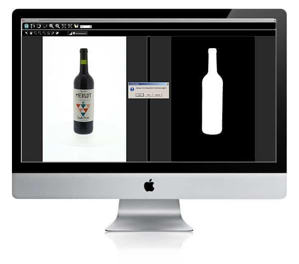 hoe een transparante fles te fotograferen
