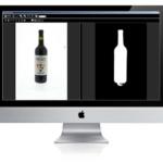 bewerken van een afbeelding van een transparant product op een software