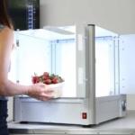 Compacte packshot geautomatiseerde fotostudio studio
