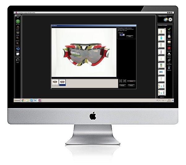 software met een 360-animatie-editor