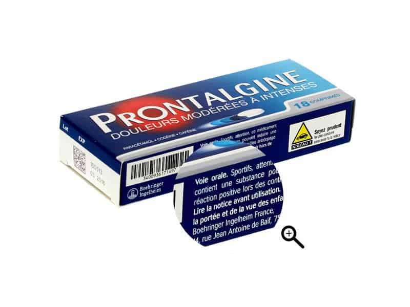 foto van een parafarmaceutisch product in een online winkel