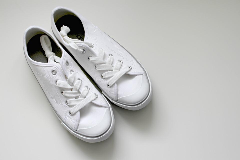 foto van schoenen op een witte achtergrond