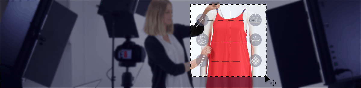 shoot pictures of dresses and then edit them easily