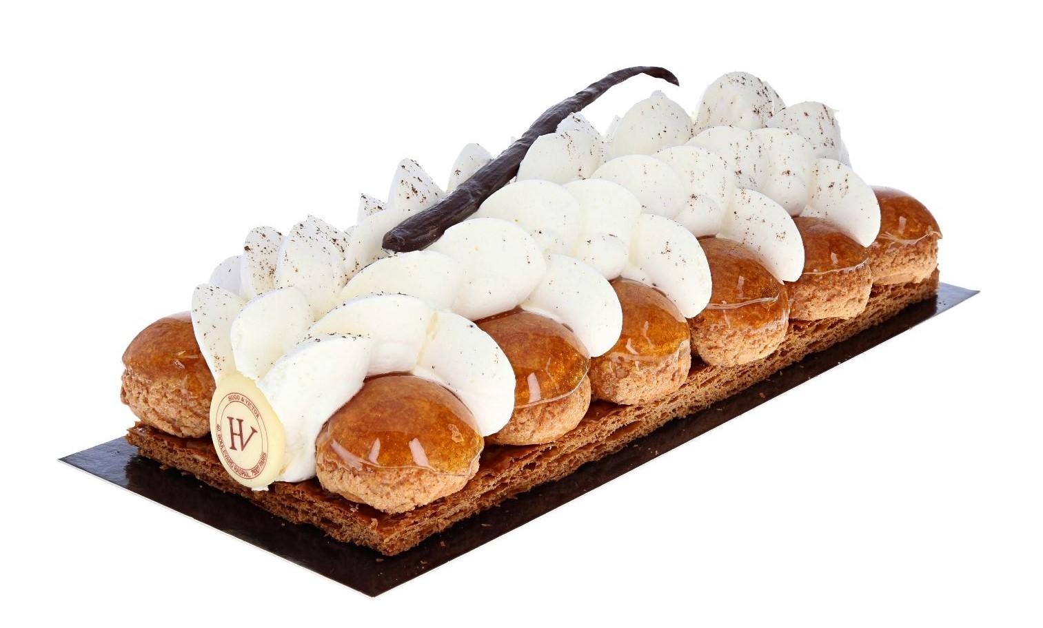 fotograferen van gebakje op witte achtergrond vóór automatisering