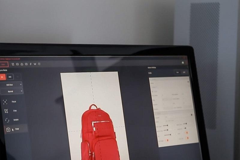 Logiciel PackshotCreator 2019 photographies de produits, animations à 360°