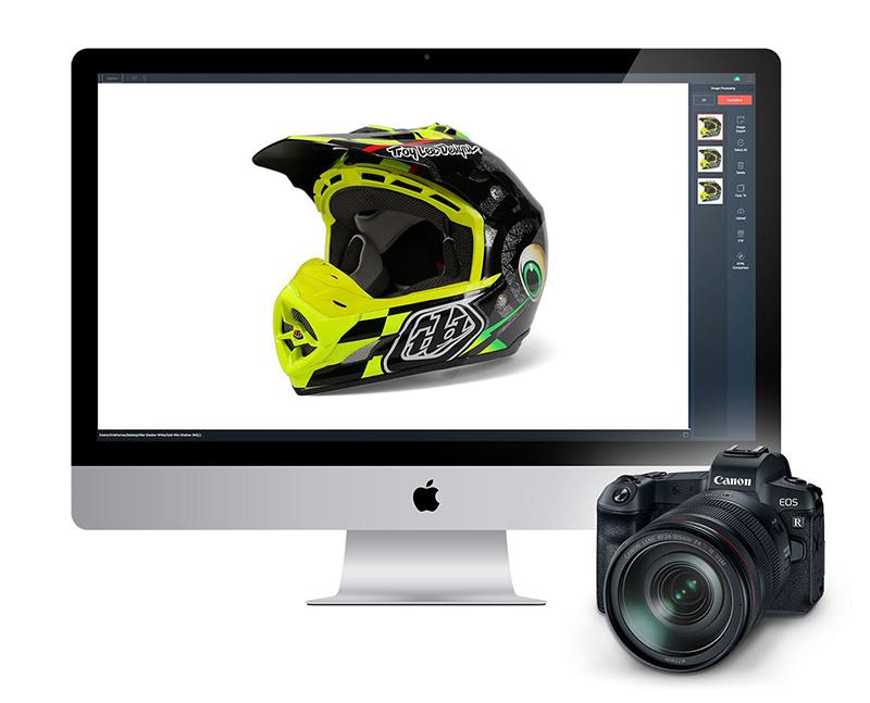 PackshotCreator software Canon camera