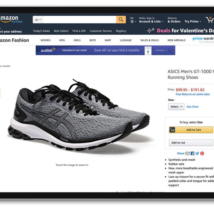 schoenenfotografie voor e-commerce met PackshotCreator fotostudio's